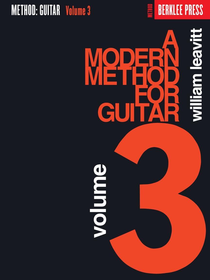 A Modern Method for Guitar - Volume 3: Guitar: Instrumental Tutor