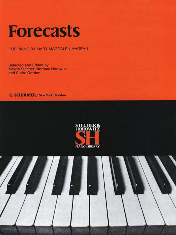 M Mageau: Forecasts Techer Horowitz & Gordon: Piano: Instrumental Album