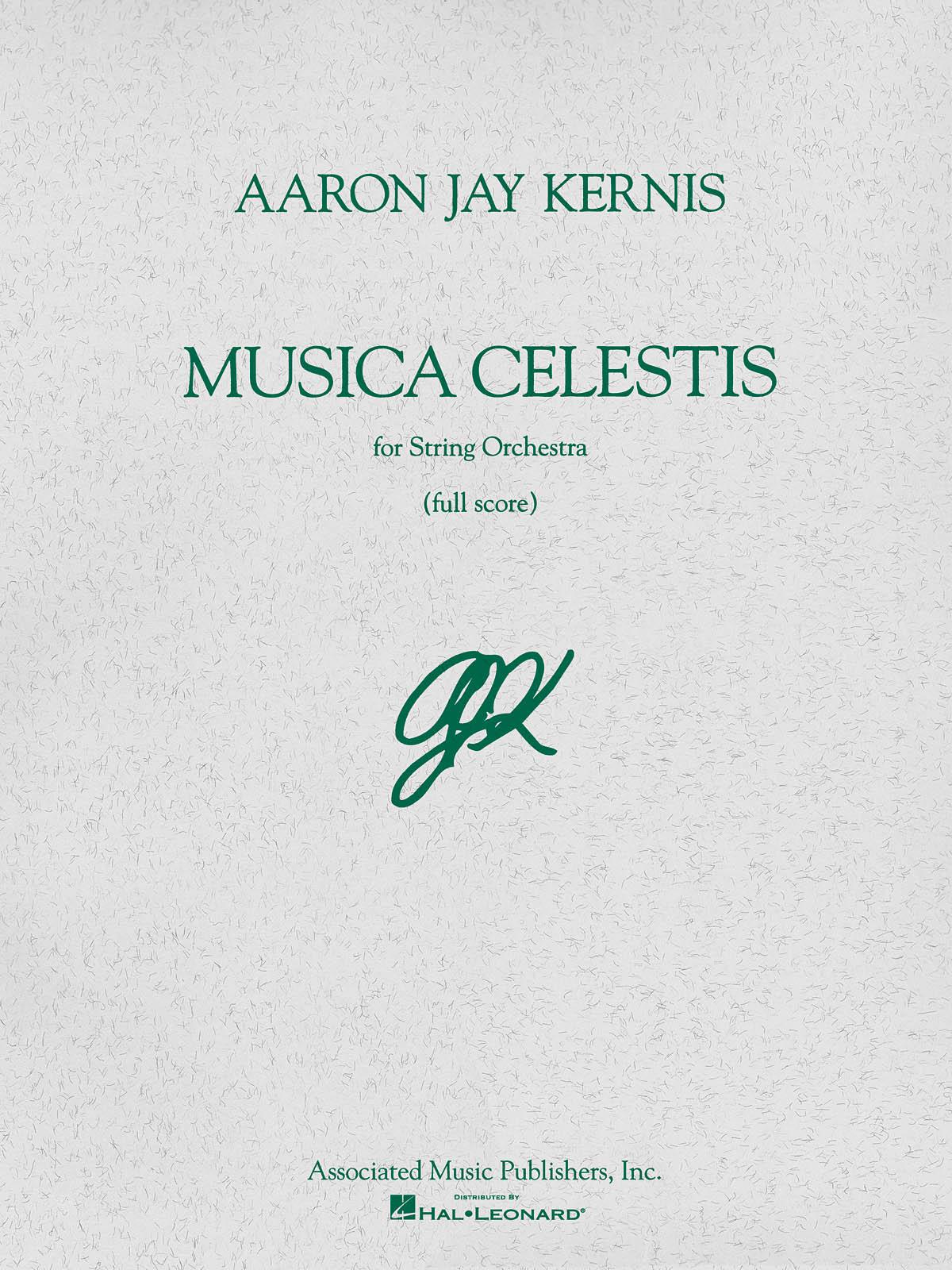 Aaron Jay Kernis: Musica Celestis: Orchestra: Score