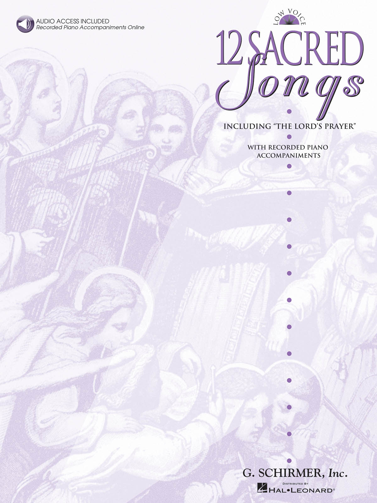 12 Sacred Songs - Low Voice: Low Voice: Mixed Songbook