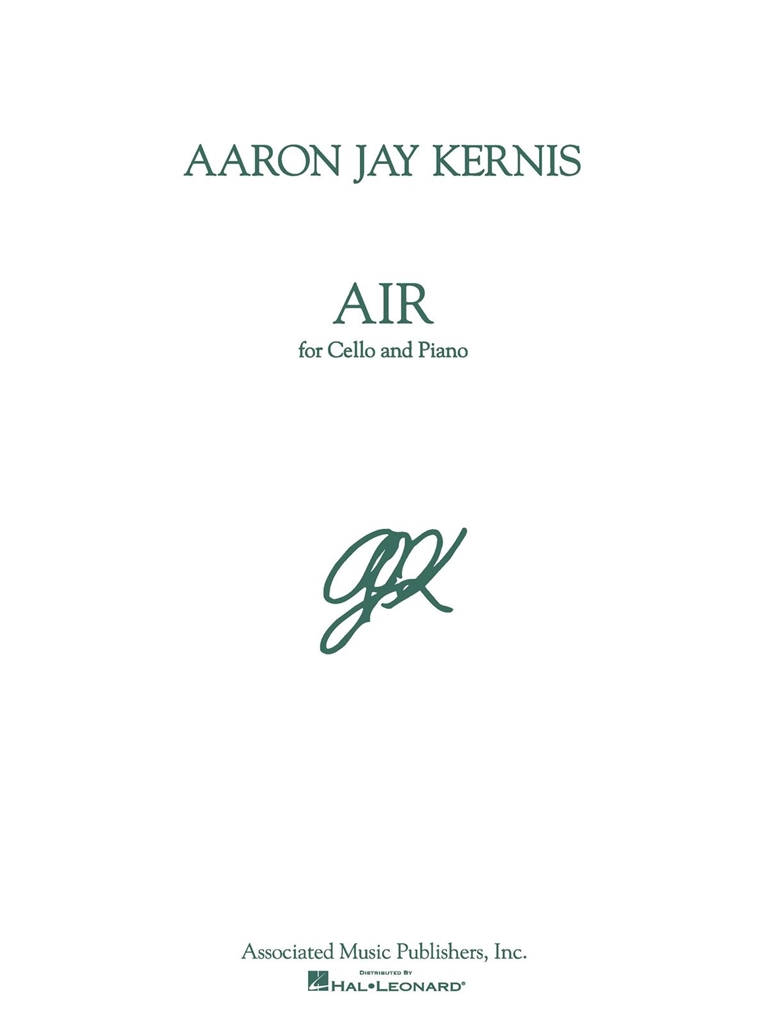 A Kernis: Air: Cello and Accomp.: Instrumental Work