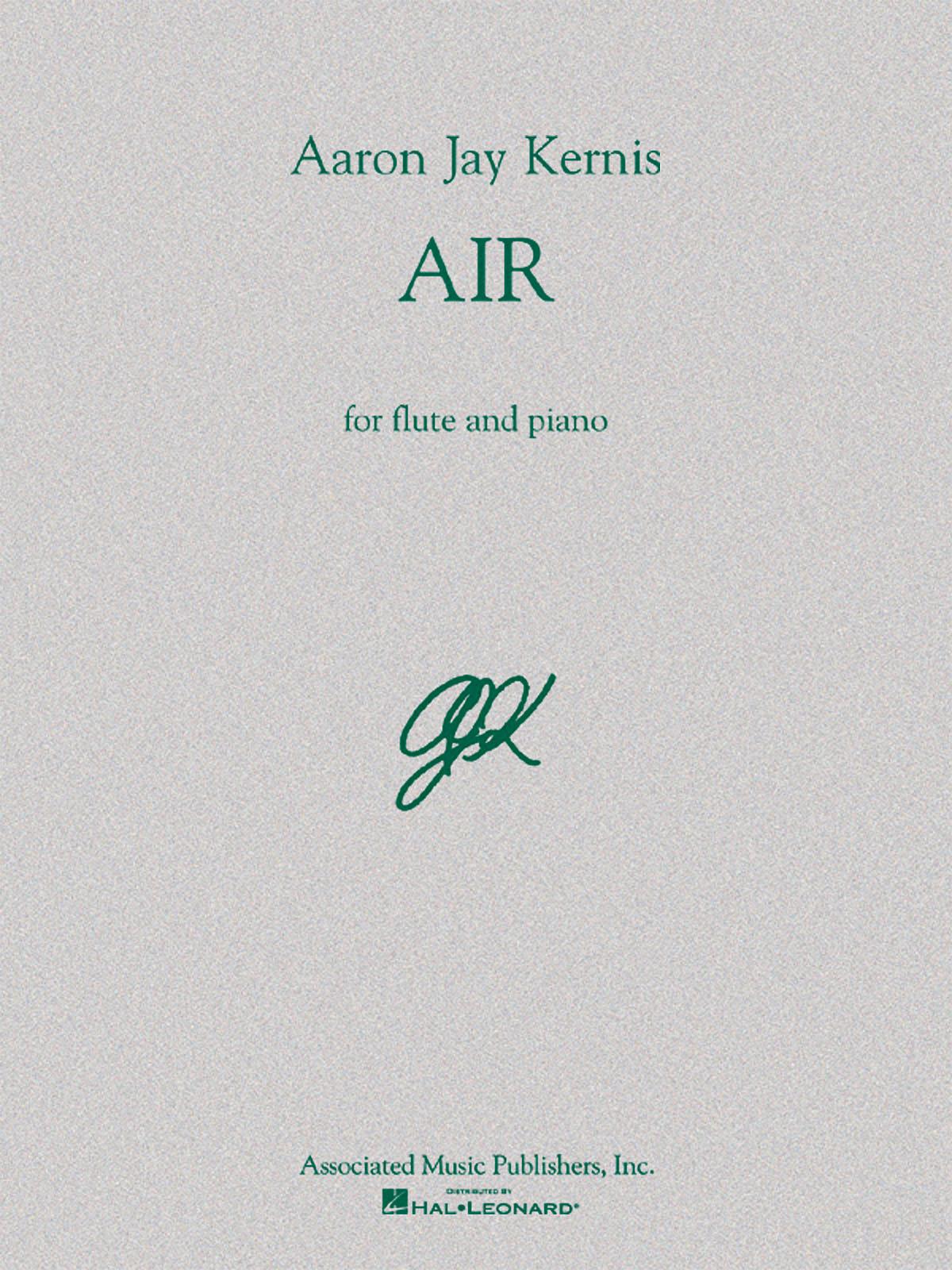 Aaron Jay Kernis: Air: Flute: Instrumental Album