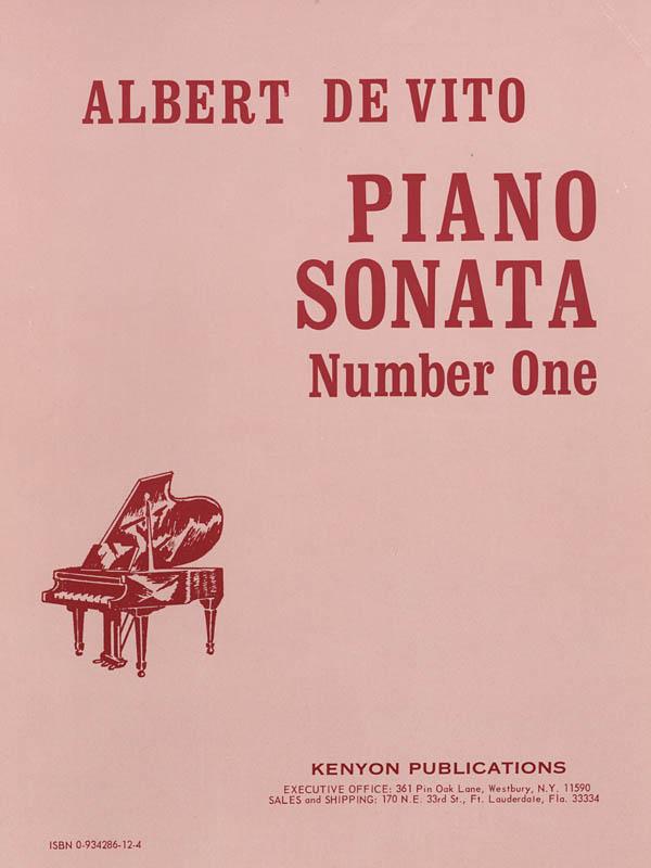 Albert De Vito: Sonata No. 1: Piano: Instrumental Work