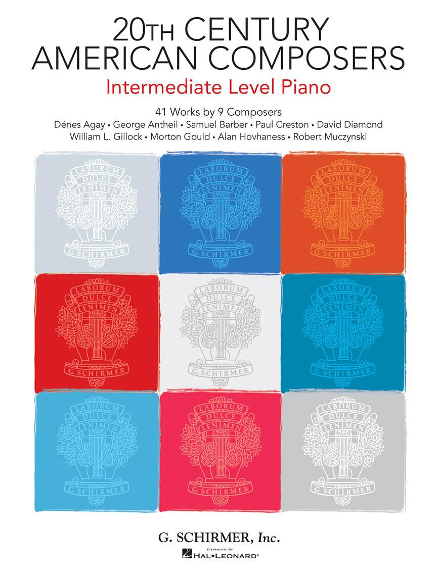 20th Century American Composers - Intermed. Level: Piano: Instrumental Album