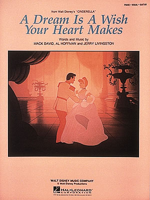A. Hoffman: A Dream Is A Wish Your Heart Makes: Piano: Single Sheet