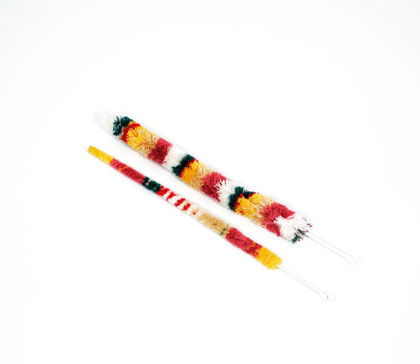 Oboe Cleaning Mop Microfibre Wire Handle 2 Mops: Cleaning