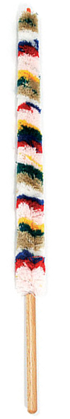 Flute Mop Wool Wooden Handle: Cleaning