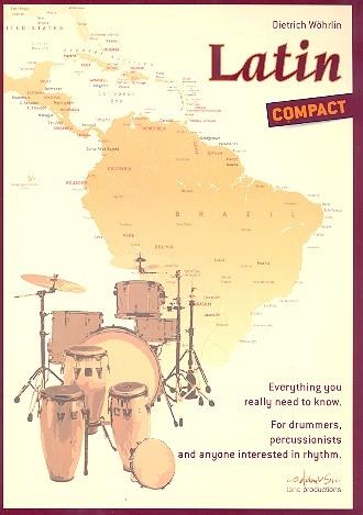 Dietrich Wöhrlin: Latin Compact: Drum Kit: Instrumental Tutor