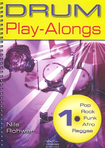 Nils Rohwer: Drum Play-Alongs 1: Drum Kit: Instrumental Album