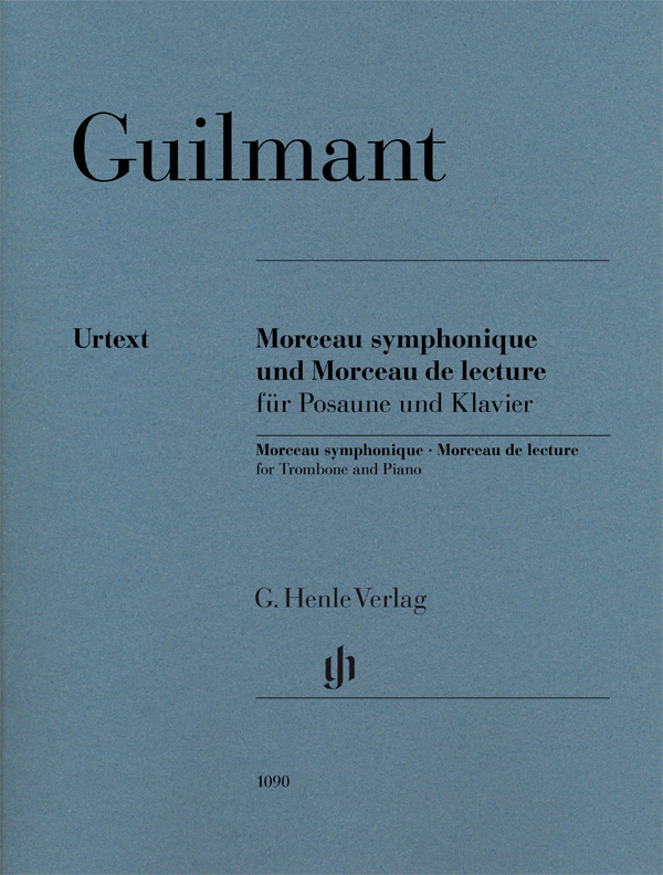 Alexandre Guilmant: Morceau Symphonique Op. 88 And Morceau De Lecture: Trombone: