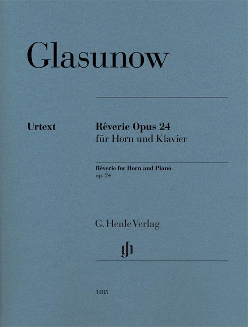Alexander Glazunov: Rêverie Opus 24: French Horn: Instrumental Work