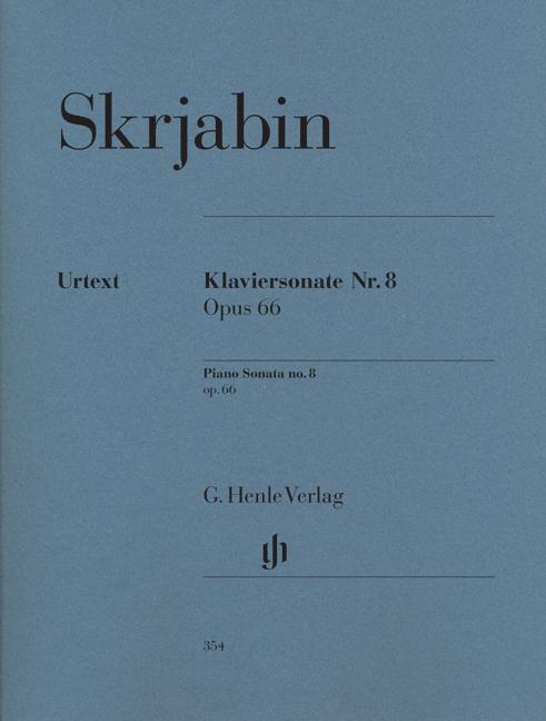 Alexander Skrjabin: Piano Sonata No.8 Op.66: Piano: Instrumental Work