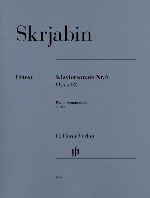Alexander Skrjabin: Piano Sonata No.6 Op.62: Piano: Instrumental Work