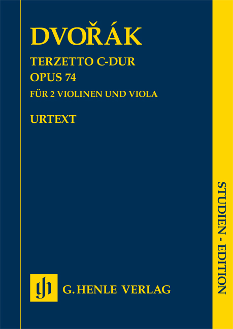 Antonín Dvořák: Terzetto in C major op. 74: String Ensemble