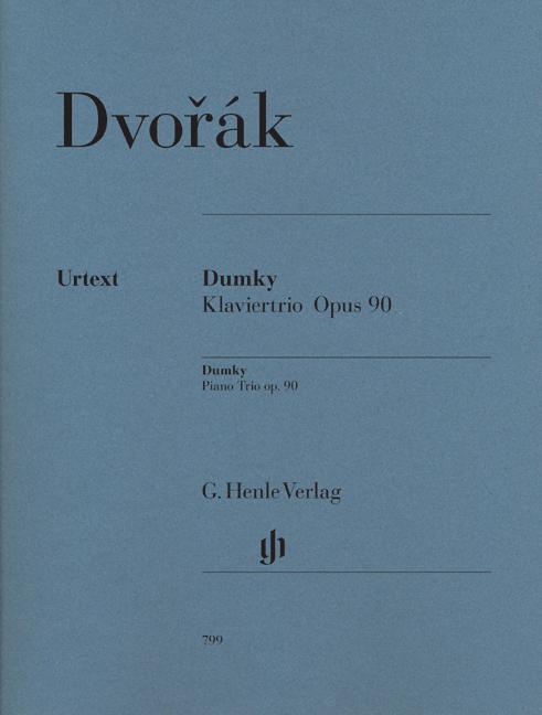 Antonín Dvořák: Dumky Piano Trio Op.90: Piano Trio: Score and Parts