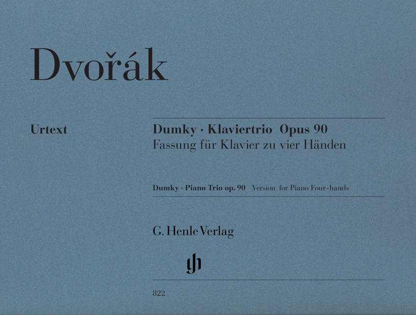 Antonín Dvořák: Dumky - Piano Trio Op.90: Piano Duet: Instrumental Work