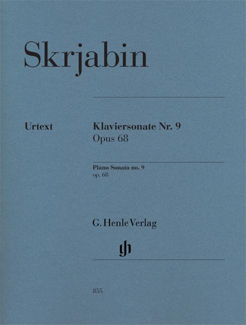 Alexander Scriabin: Piano Sonata No.9 Op.68 - Henle Urtext: Piano: Instrumental