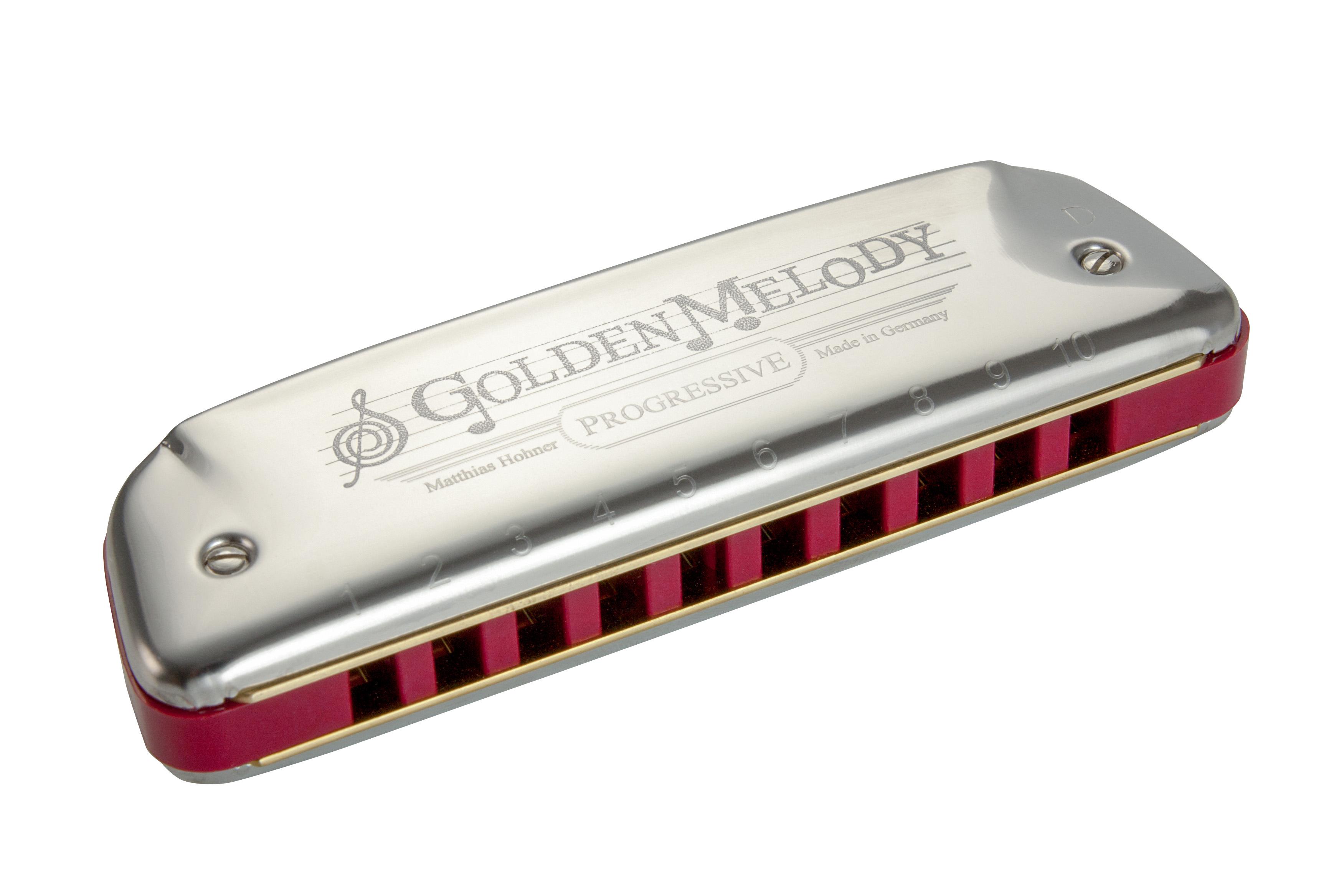 Golden Melody Key G: Harmonica