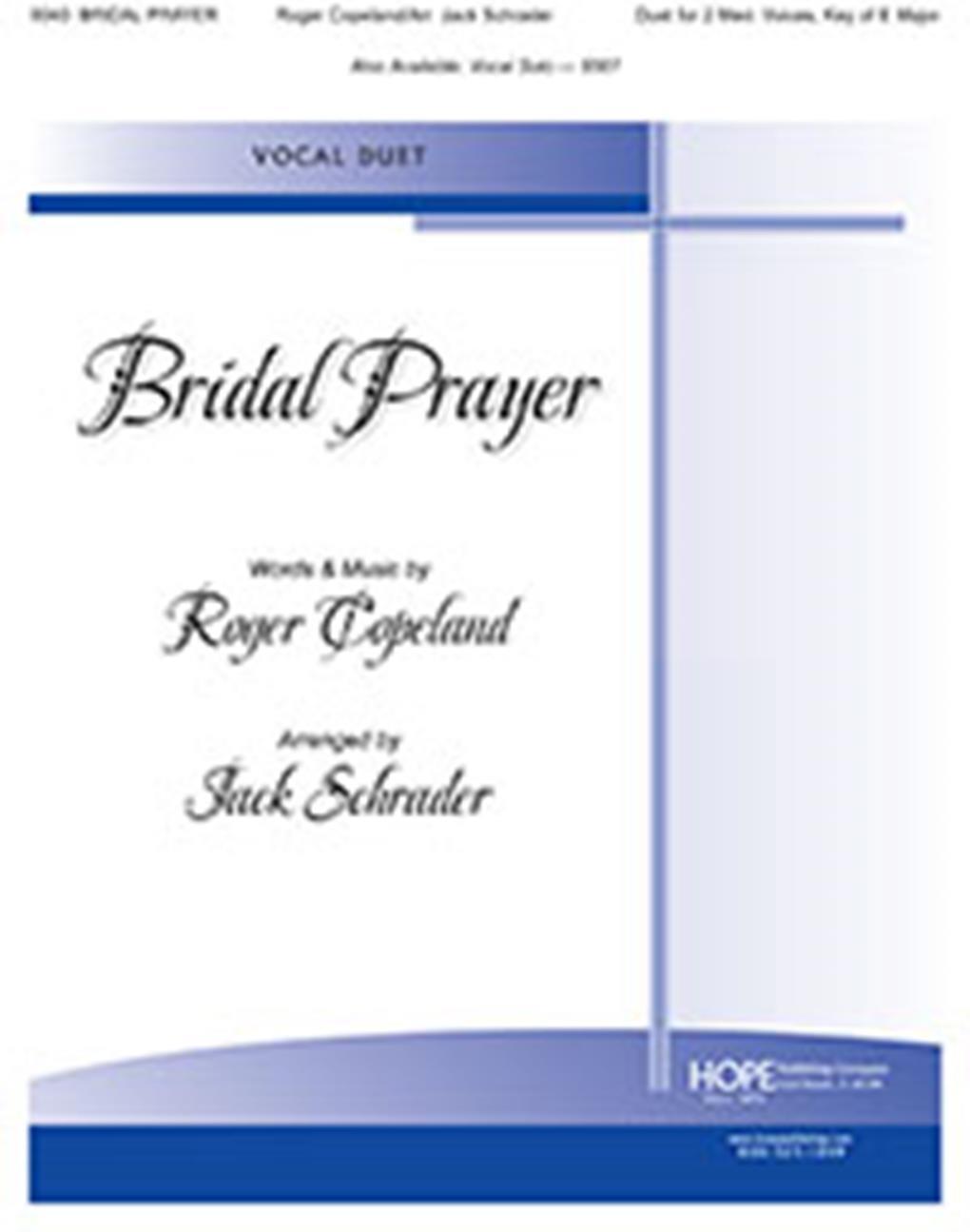Bridal Prayer: Vocal: Vocal Score