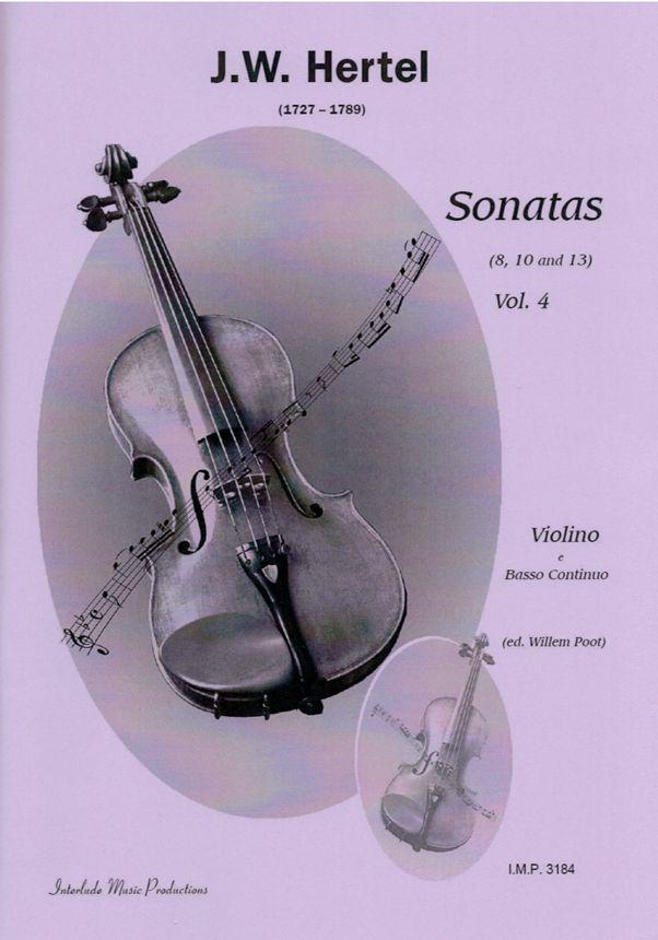 J. W. Hertel: Sonatas Vol. 4: Violin Solo: Instrumental Album