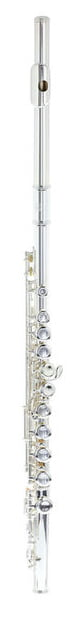 700 Series Flute C With E Mechanism Silver Chimney: Flute