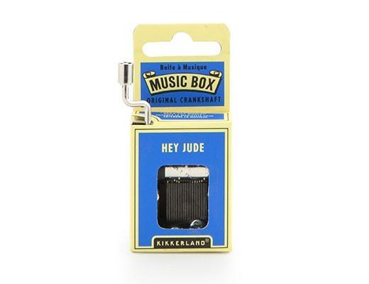 Hand Crank Music Box Beatles Hey Jude: Music Box