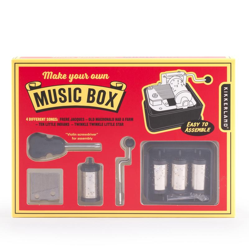 Build Your Own Music Box: Music Box