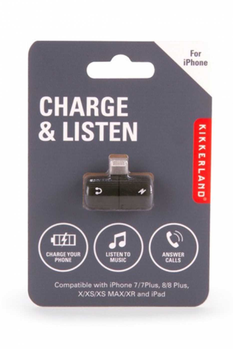 Charge And Listen: Accessory