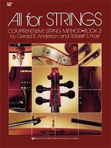 All For Strings 3: String Ensemble: Instrumental Tutor