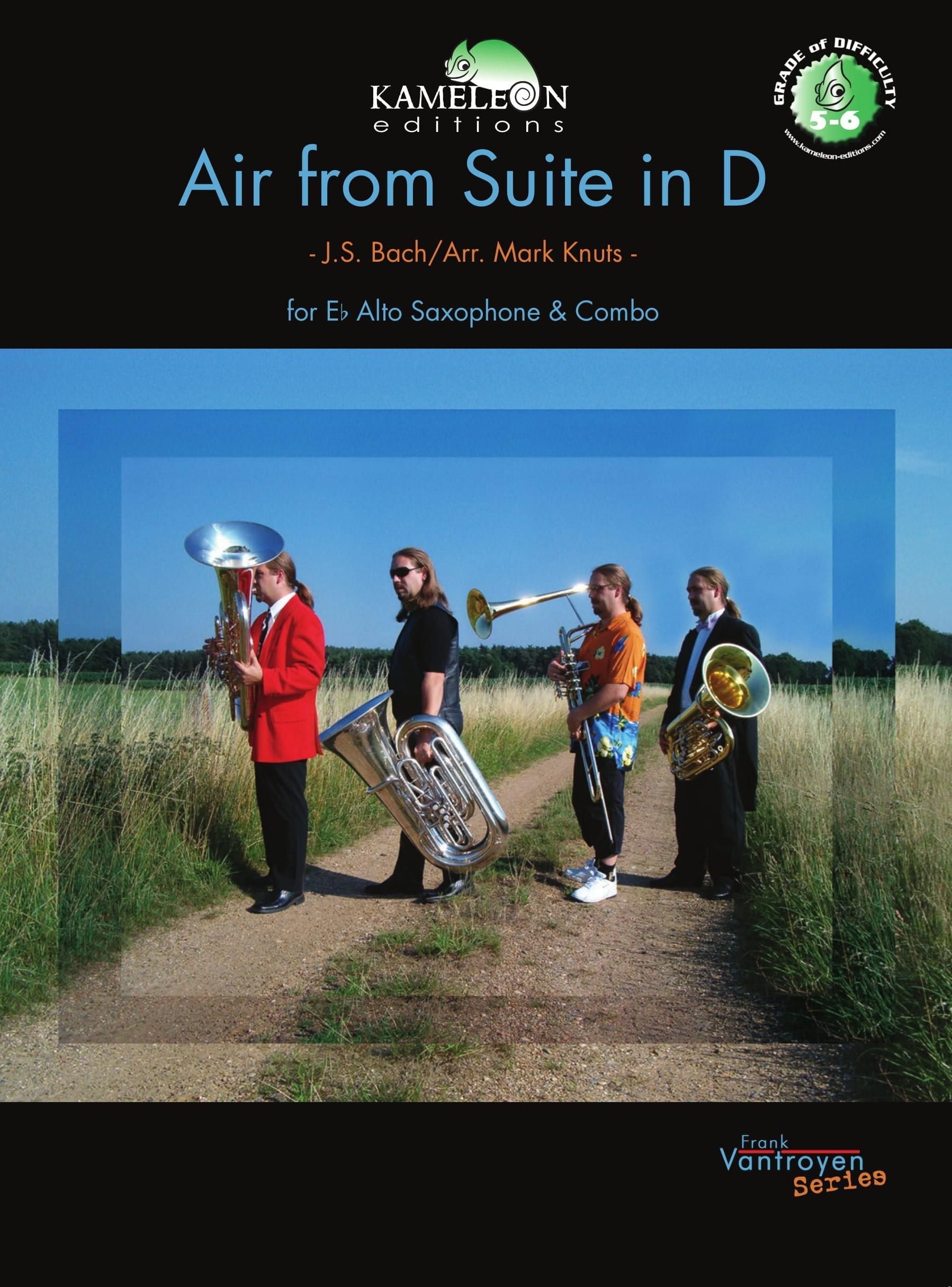 Johann Sebastian Bach: Air From Suite In D: Alto Saxophone: Instrumental Work