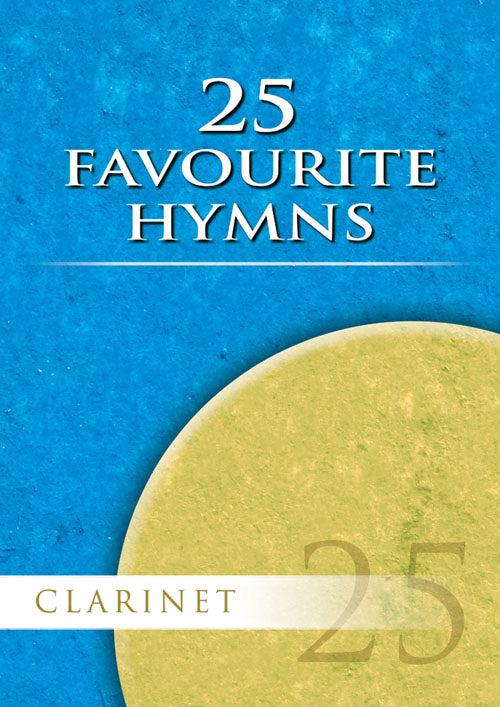 25 Favourite Hymns - Clarinet: Clarinet: Instrumental Album
