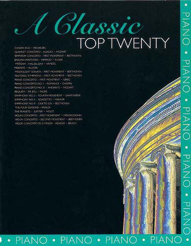 A Classic Top Twenty - Piano