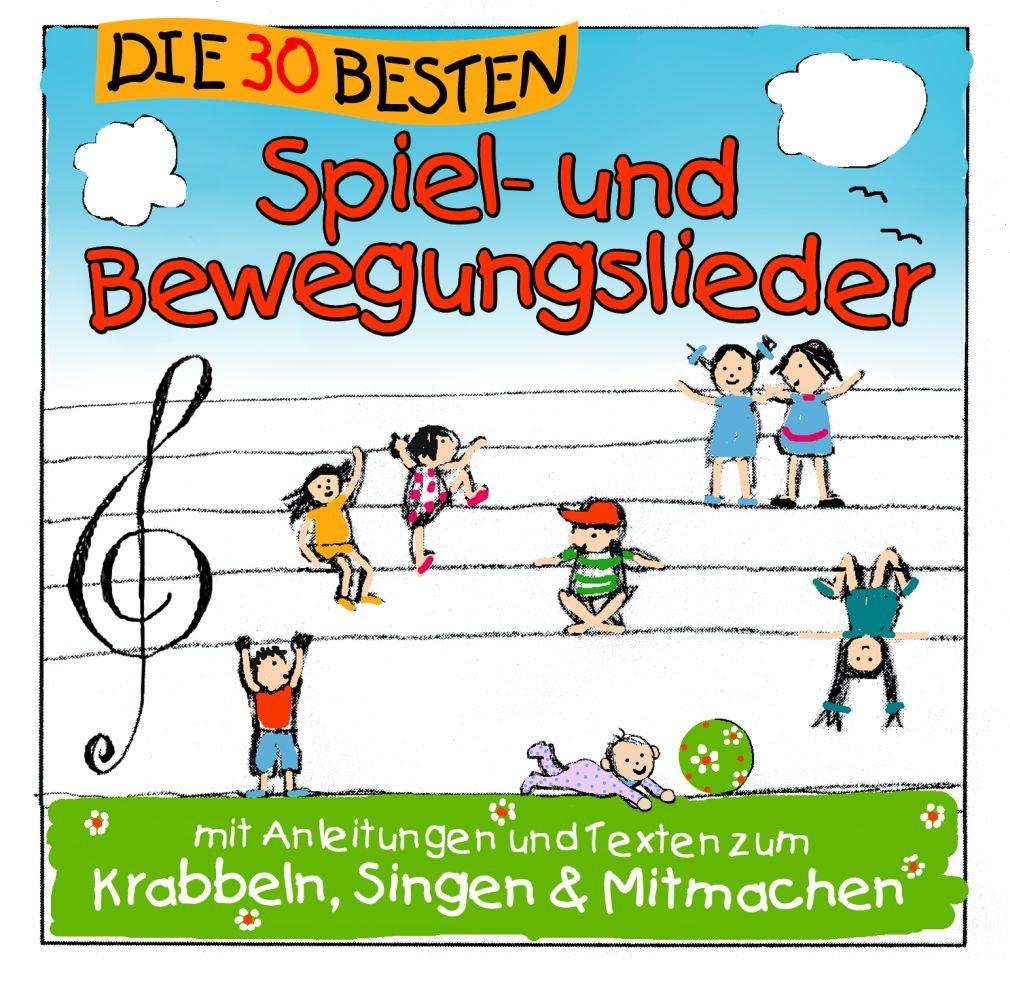 Simone Sommerland Karsten Glück: Die 30 Besten Spiel- und Bewegungslieder: CD