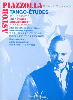 Astor Piazzolla: Tango - Etudes (6): Saxophone: Study