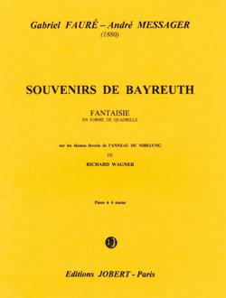 Gabriel Fauré André Messager: Souvenirs de Bayreuth: Piano Duet: Instrumental