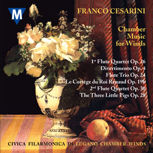 Franco Cesarini - Chamber Music for Winds: Concert Band: CD