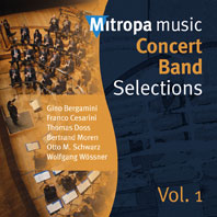 Mitropa Music - Concert Band Selections Vol. 1: Concert Band: CD
