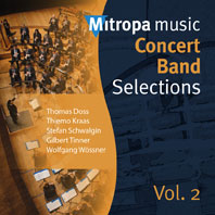 Mitropa Music - Concert Band Selections Vol. 2: Concert Band: CD