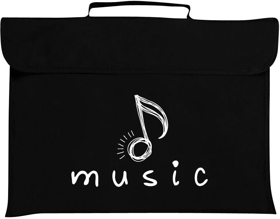 Mapac: Music Bag - Quaver (Black): Music Bag