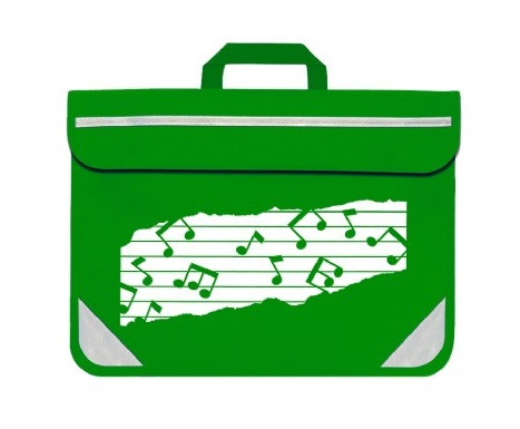 Mapac: Music Bag Duo (Emerald Green): Music Bag