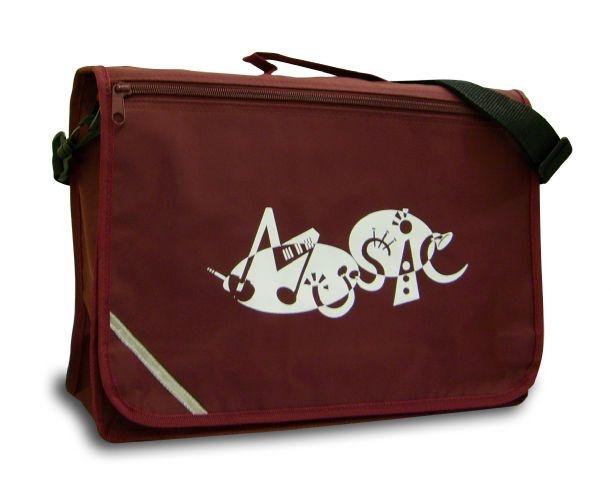 Mapac: Music Bag Excel - Music Word (Maroon): Music Bag