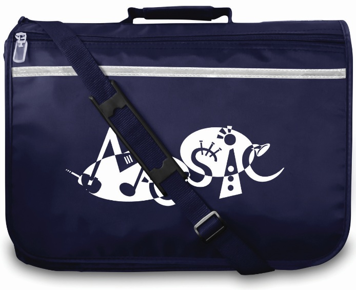 Mapac: Music Bag Excel - Music Word (Navy): Music Bag