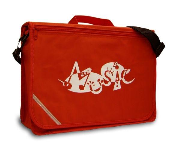 Mapac: Music Bag Excel - Music Word (Red): Music Bag