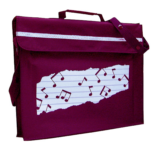 Mapac: Music Bag Primo (Maroon): Music Bag
