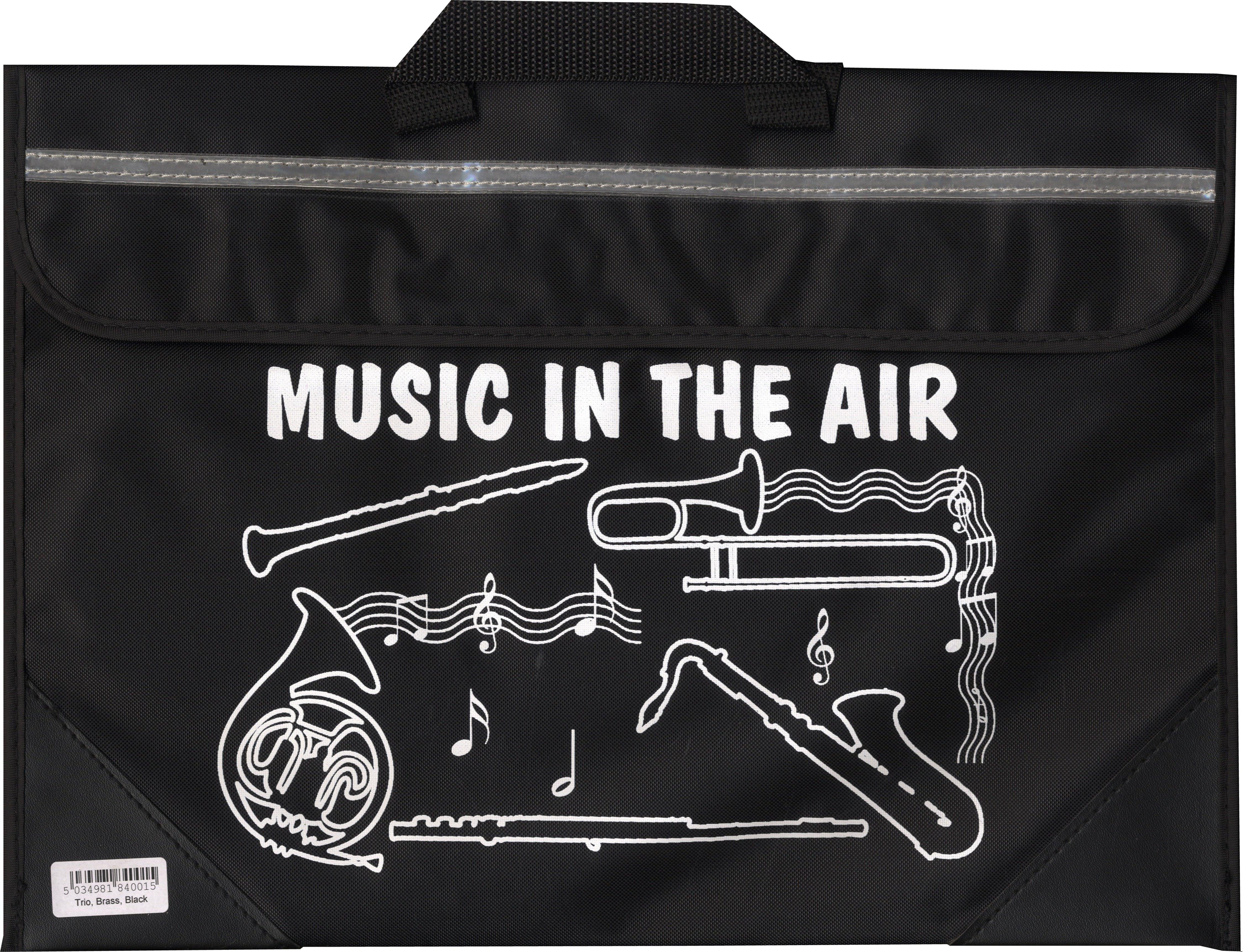Brass And Woodwind Music Bag - Black: Music Bag
