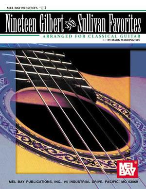 19 Gilbert And Sullivan Favorites: Guitar: Instrumental Album