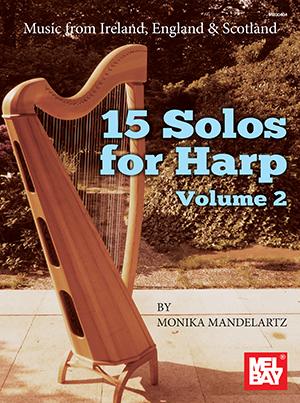 15 Solos For Harp Volume 2: Harp: Instrumental Album