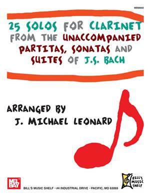 25 Solos for Clarinet: Clarinet: Instrumental Album