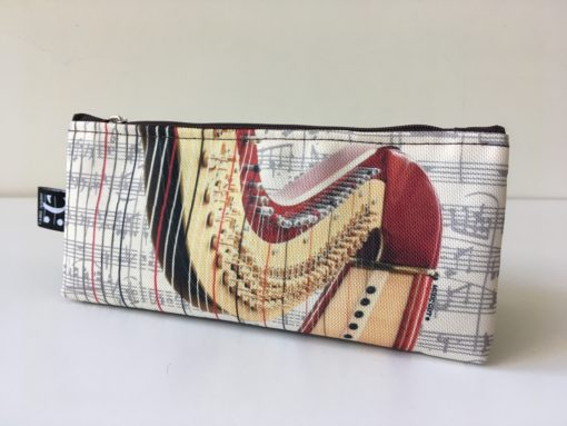 Pencil Case Harp Design: Stationery Sets