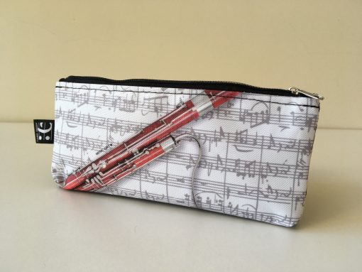 Pencil Case Bassoon Design: Stationery Sets